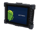 "8.1"" Rugged Android Tablet with MSR & Bar code Scanner"