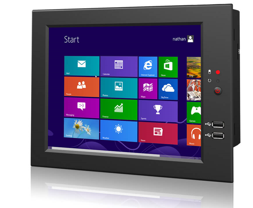 10 1 Quot Wall Mountable Flat Touch Android Windows Linux Panel Pc