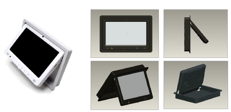 9 Quot Android 4 0 Flush Wall Or Vesa Mount Tablet With Rj45 Poe