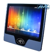 "10"" IP65 Android Panel PC with front NFC, RFID, BT and WIFI"