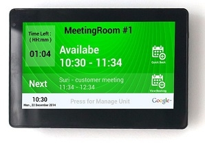 Conference Room Meeting Booking Amp Scheduling Display Systems